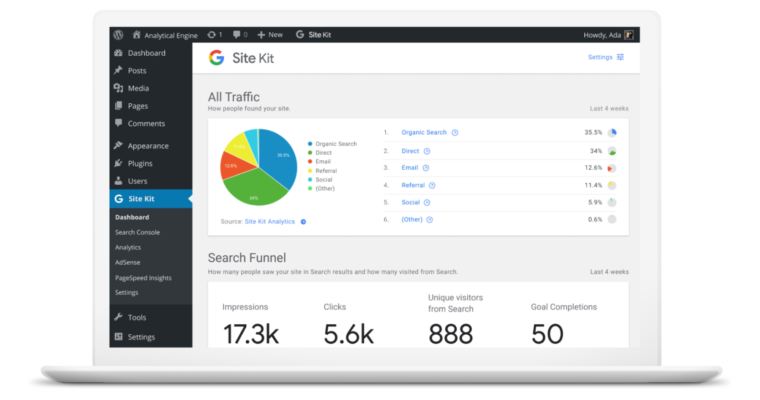 Google Introduces WordPress Plugin With Integrated Analytics, Search Console, More