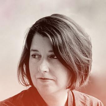 Headshot of Editor in Chief of Mother Jones, Clara Jeffery