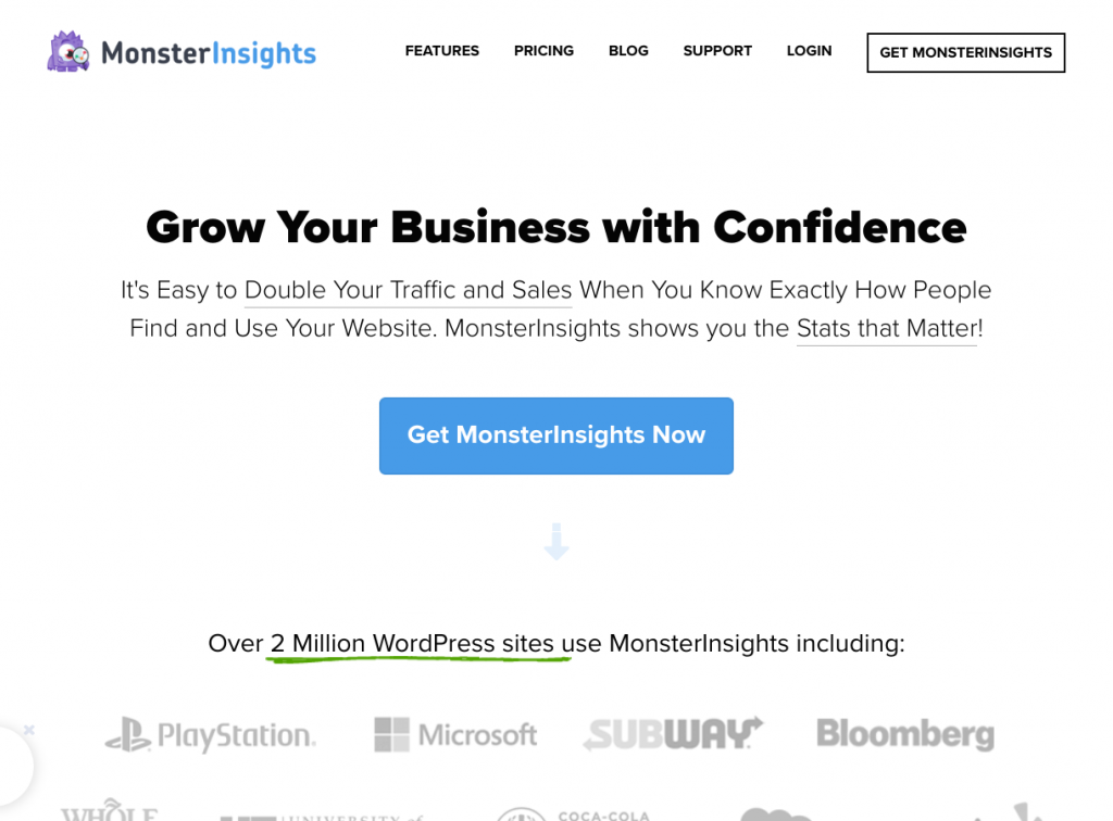 MonsterInsights-best google analytics plugin for wordpress