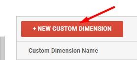 Click New Custom Dimension.